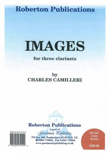 Camilleri: Images (Clarinet Trio) ROB95048