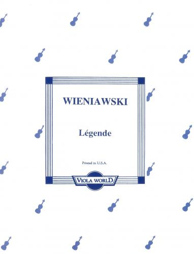 Wieniawski: Legende For Viola And Piano VWP000045