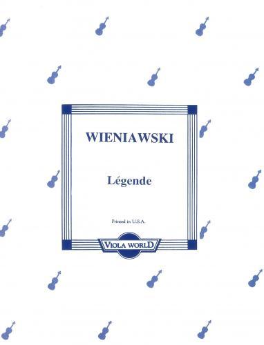 Wieniawski: Legende For Viola And Piano VWP000045