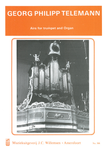 Telemann: Airs for Trumpet and Organ - organ XWIL588