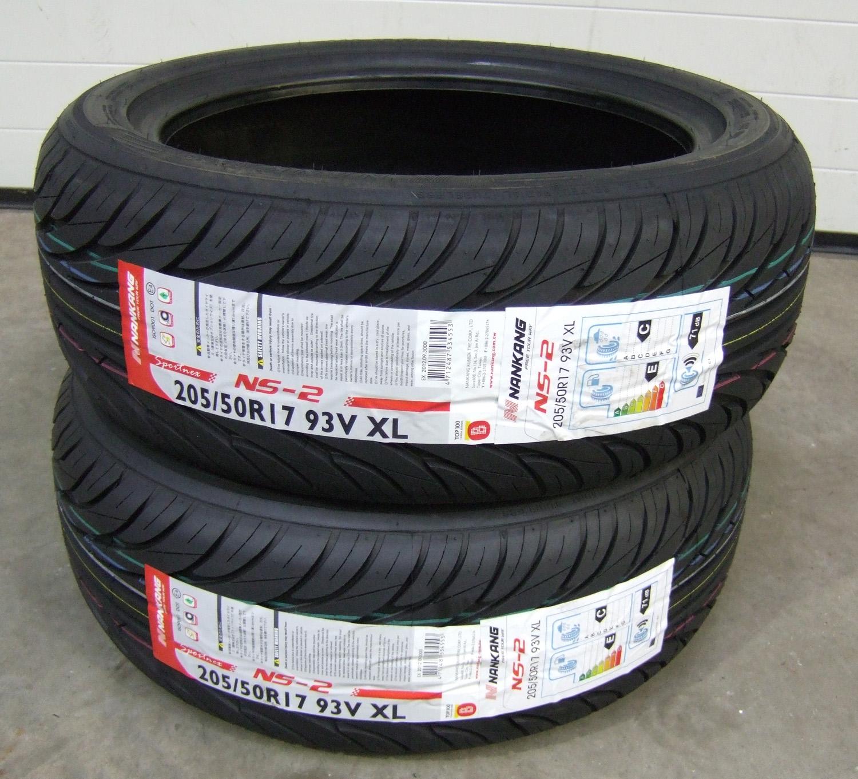 205 50 17 nankang sport ns2 tyres 2055017 205 50 17 x2 ebay. Black Bedroom Furniture Sets. Home Design Ideas