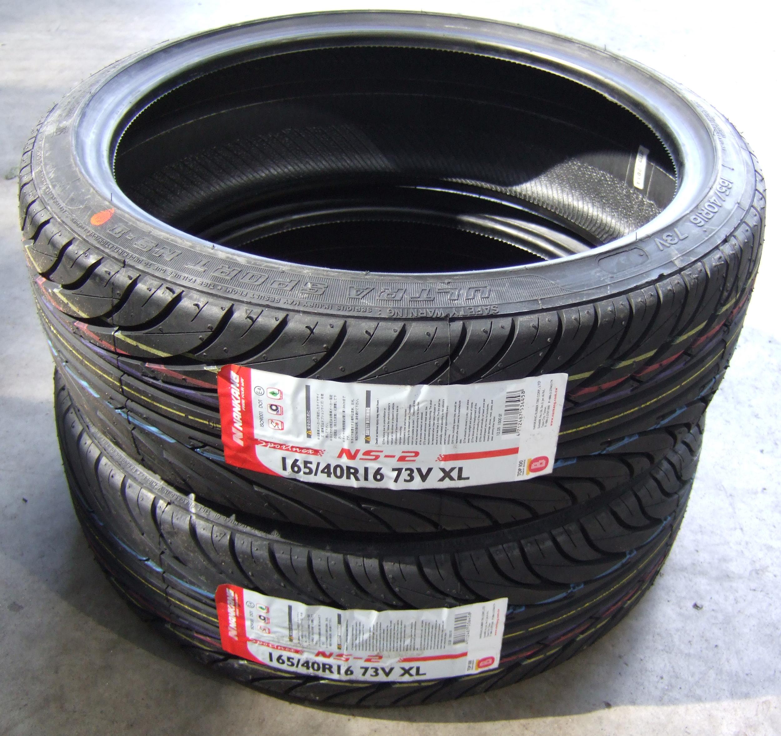 ... about 165/40/16 Nankang Sport NS2 Tyres 1654016 72V 165/40 16 x2