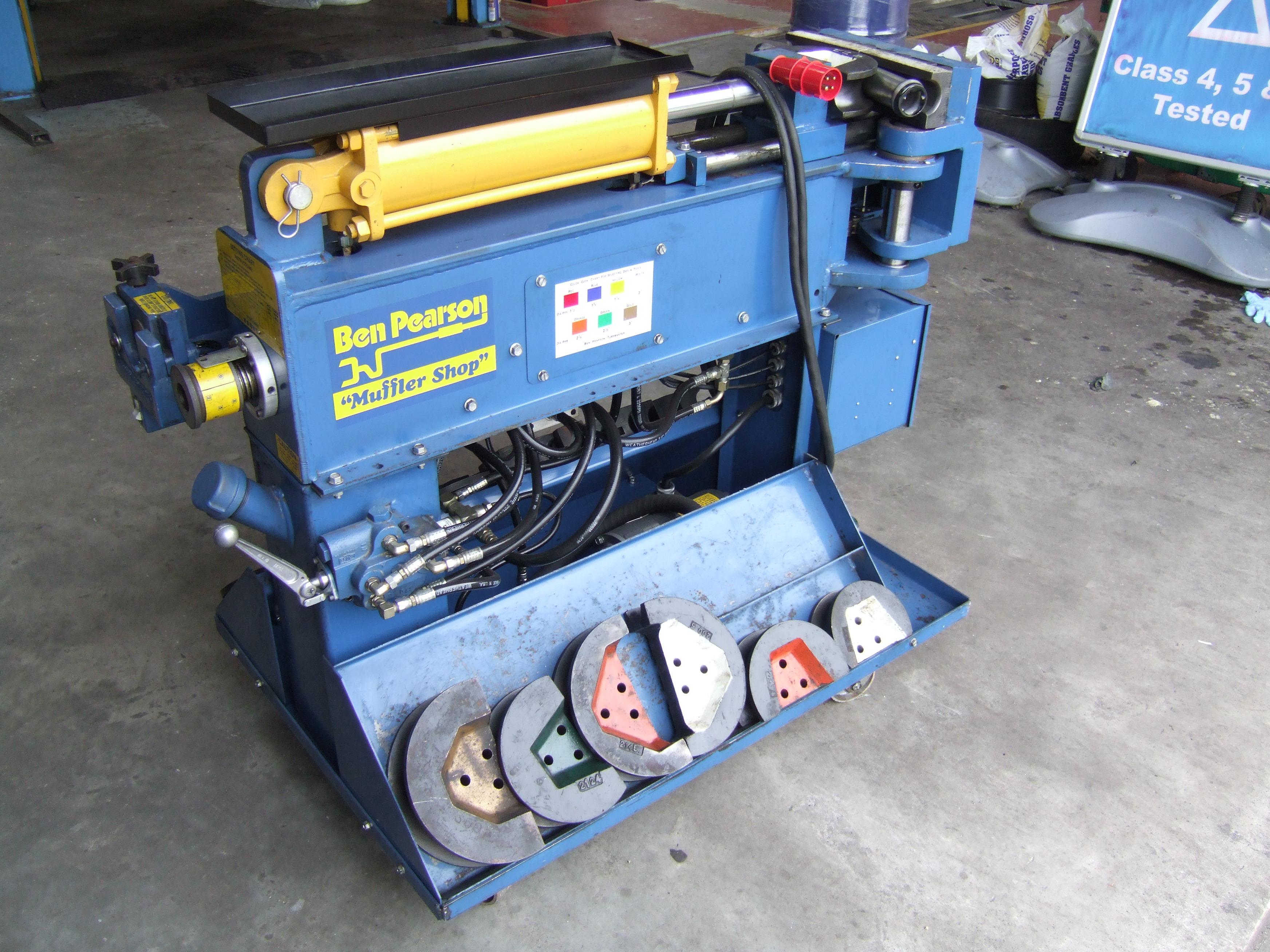 Exhaust Pipe Bender. Blue Boy Pipe Bender Repair Manual ...