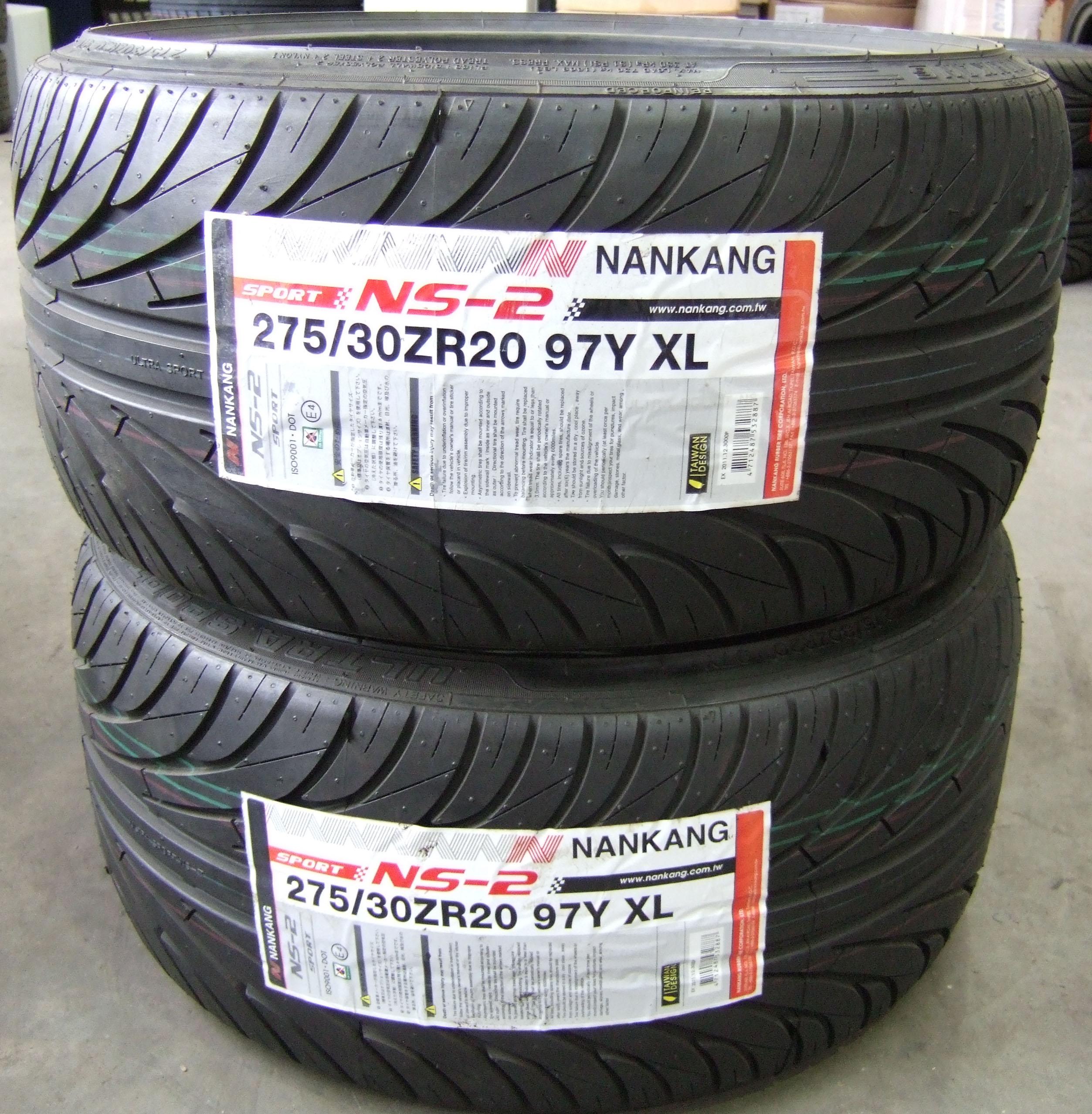 275 30 20 nankang sport ns2 tyres 2753020 97y xl 275 30 20. Black Bedroom Furniture Sets. Home Design Ideas