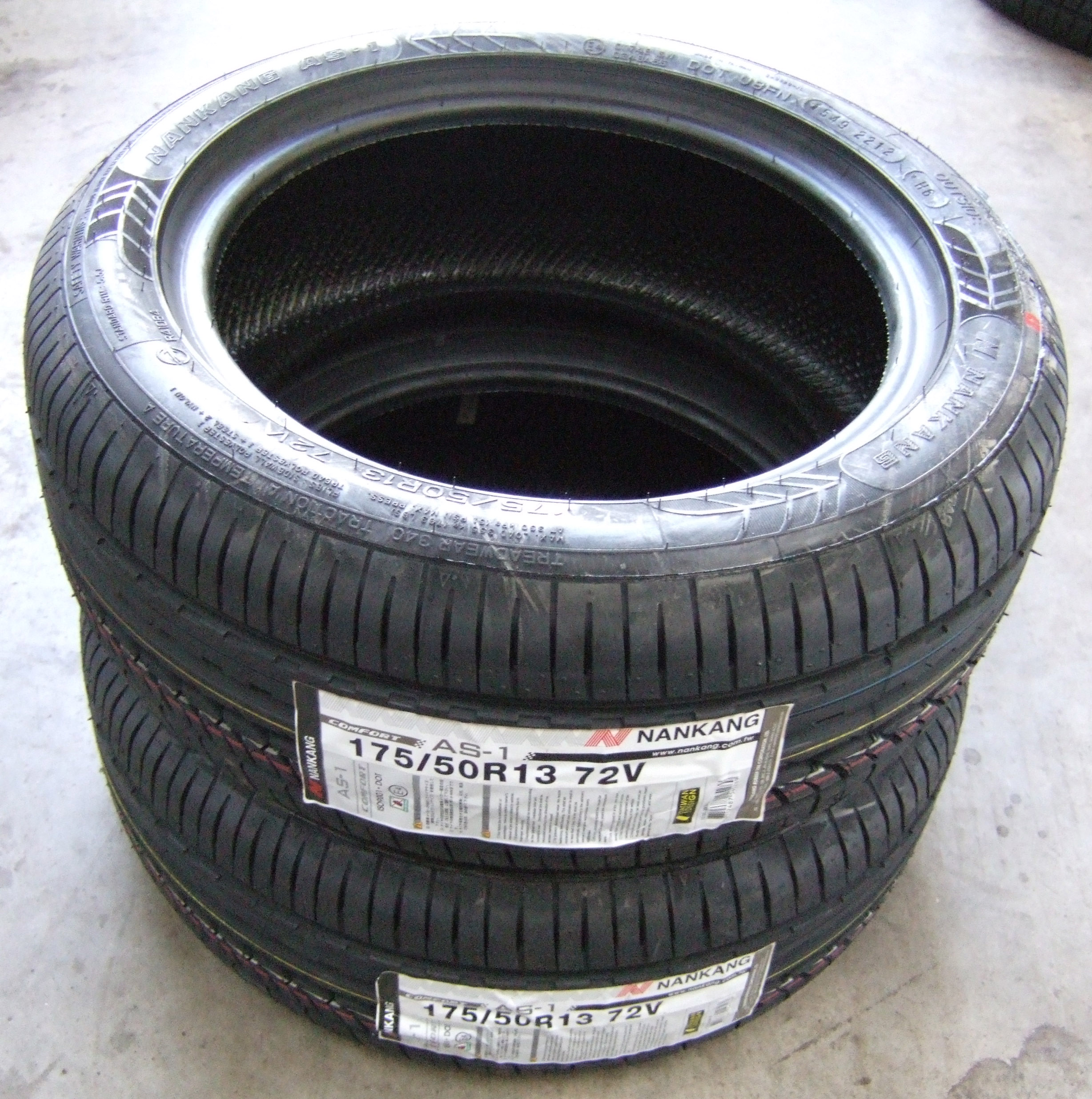 175 50 13 nankang comfort as1 tyres 72v 1755013 175 50 13. Black Bedroom Furniture Sets. Home Design Ideas