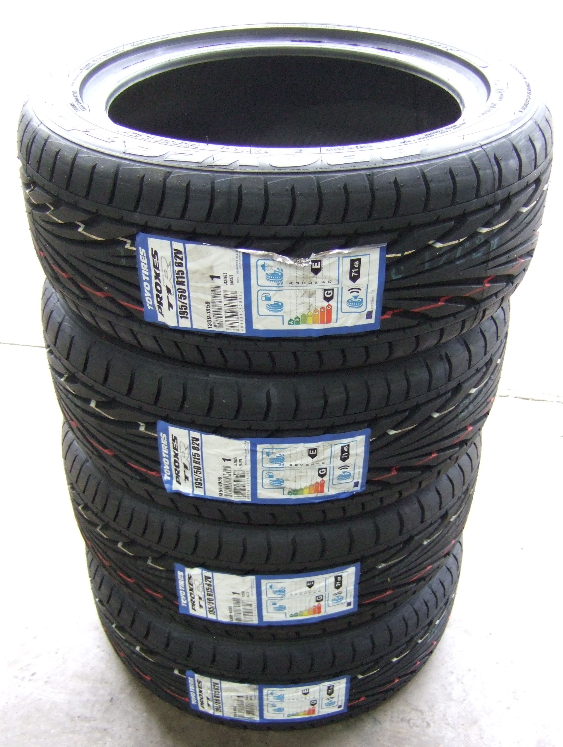 195 50 15 toyo t1r proxes tyres 1955015 tyres 195 50 15 x4 ebay. Black Bedroom Furniture Sets. Home Design Ideas