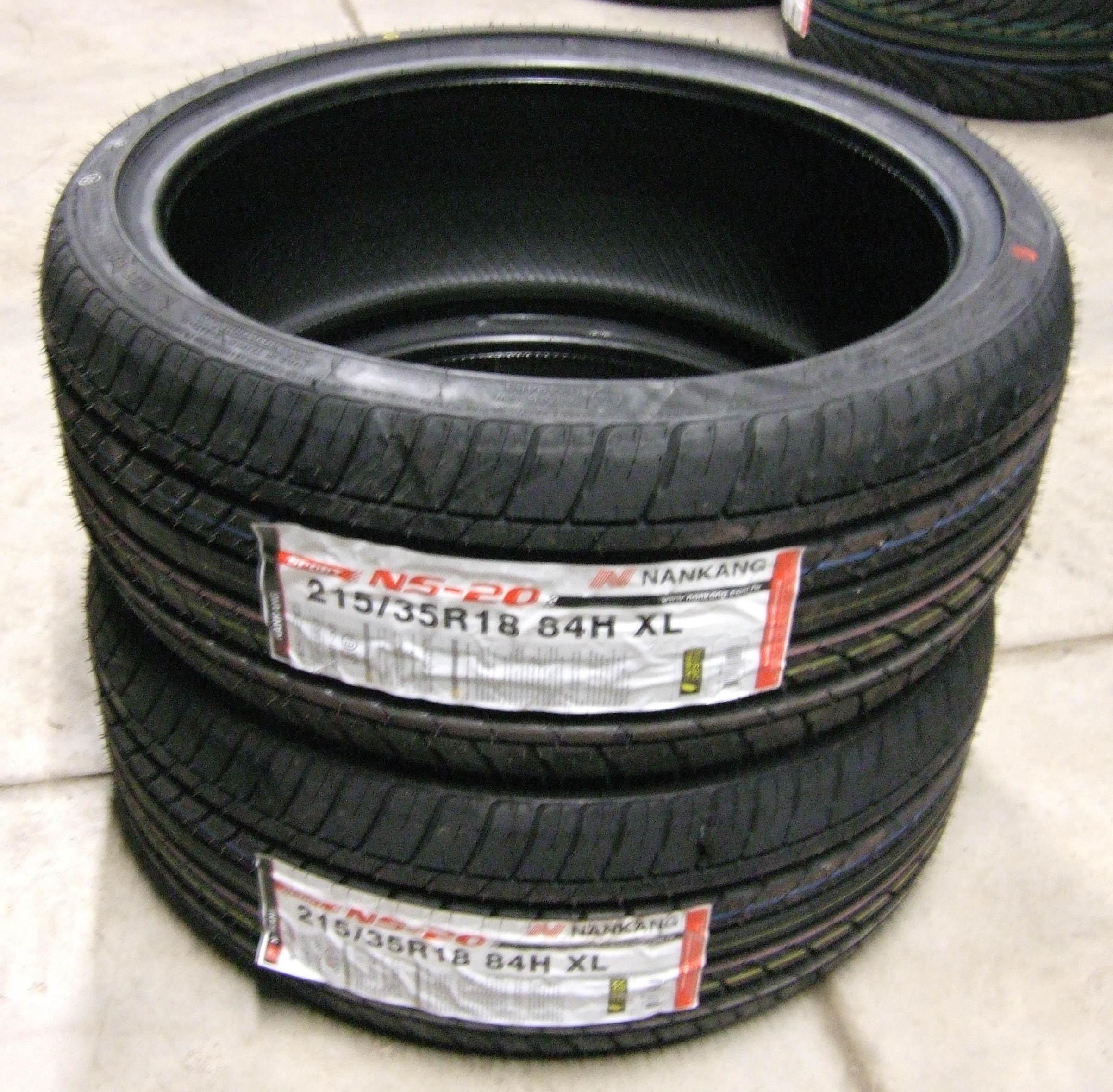 215 35 18 nankang ns 20 tyres 2153518 84h 215 35 18 x2 ebay. Black Bedroom Furniture Sets. Home Design Ideas