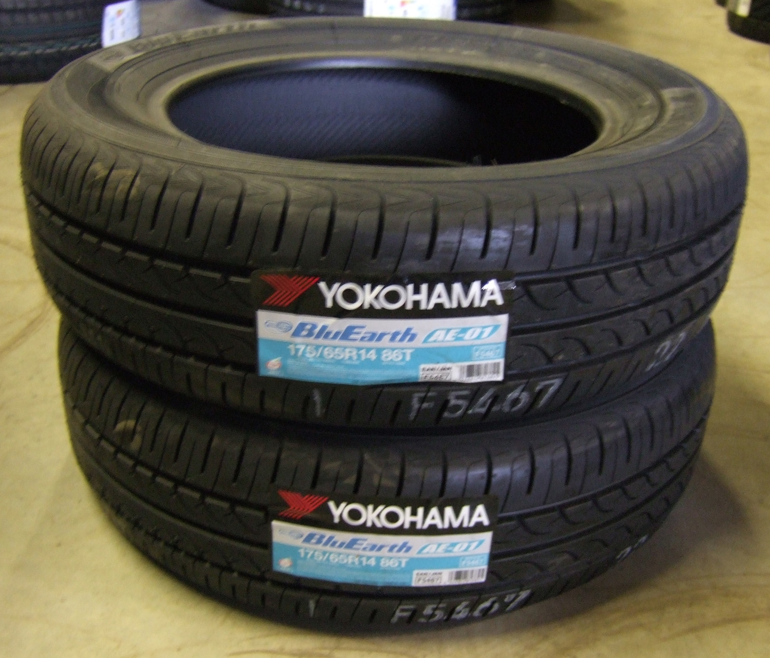 175 65 14 yokohama blue earth eco ae01 tyres 1756514 86t