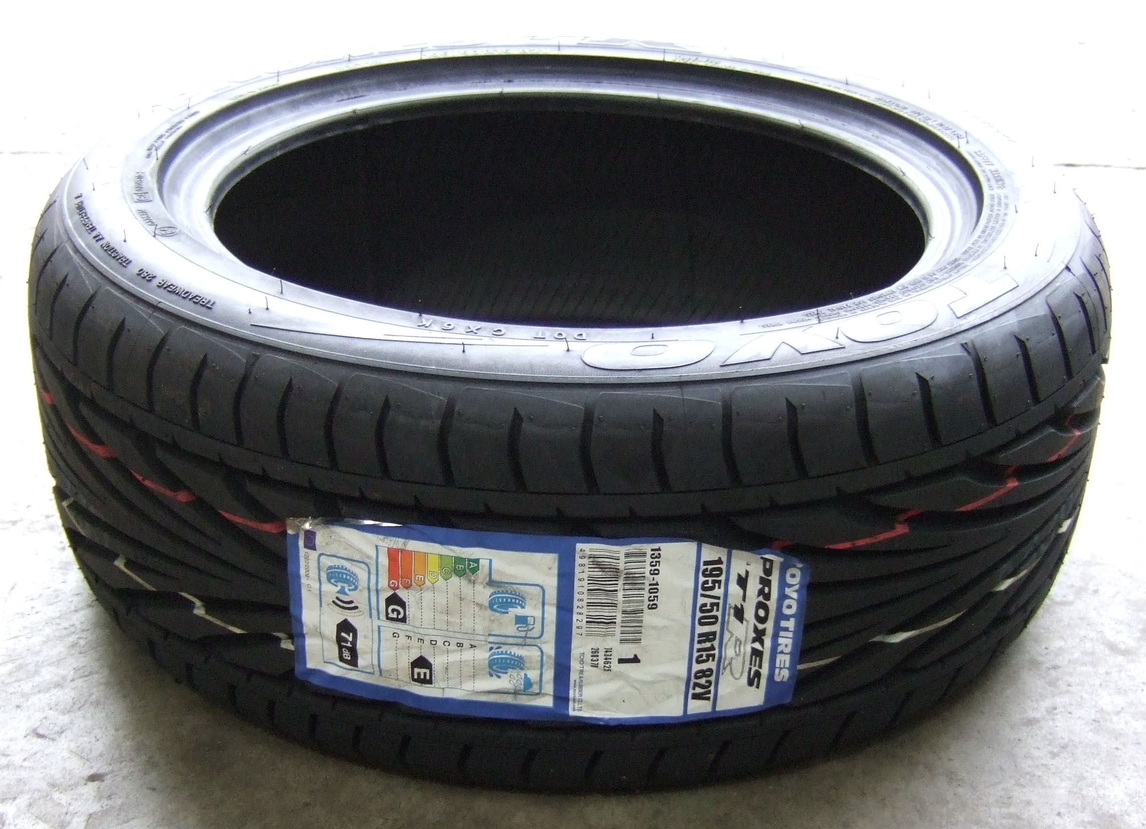 195 50 15 toyo proxes t1r tyres 1955015 tyres 195 50 15 x1 ebay. Black Bedroom Furniture Sets. Home Design Ideas