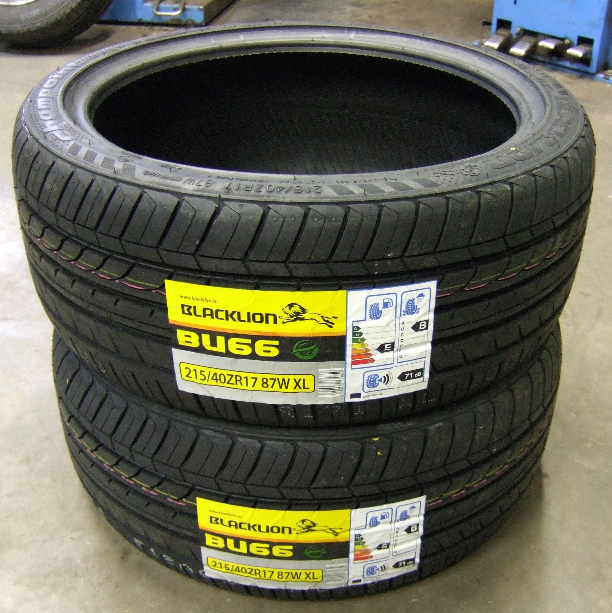 215 40 17 black lion bu66 budget tyre 2154017 87w xl 215. Black Bedroom Furniture Sets. Home Design Ideas