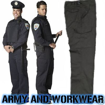 Police-Security-Guard-Combat-Cargo-Trousers-Work-Pants