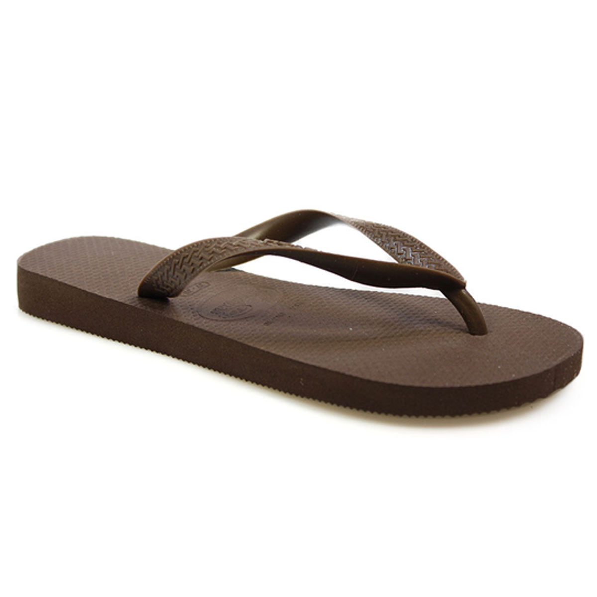 havaianas mens womens brown rubber flip flops sandals shoes size 2 10 ebay. Black Bedroom Furniture Sets. Home Design Ideas