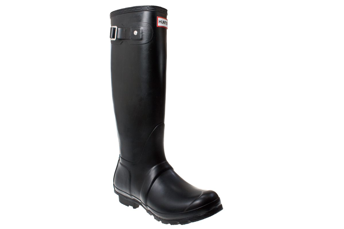 Hunter Wellies Original Tall Women Black Rubber Boots | eBay