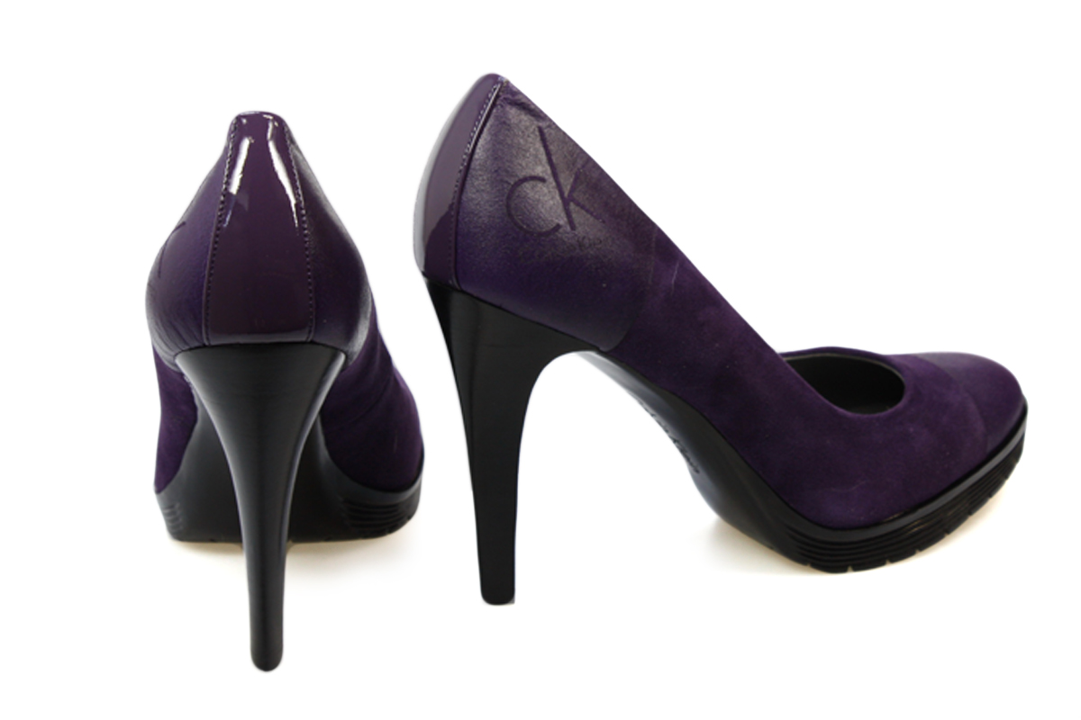 Kids Purple High Heels