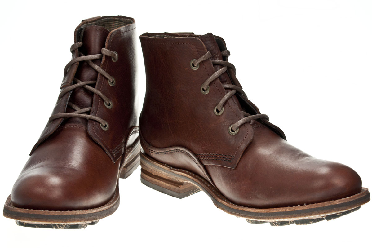 caterpillar warren briar leather lace up mens boots