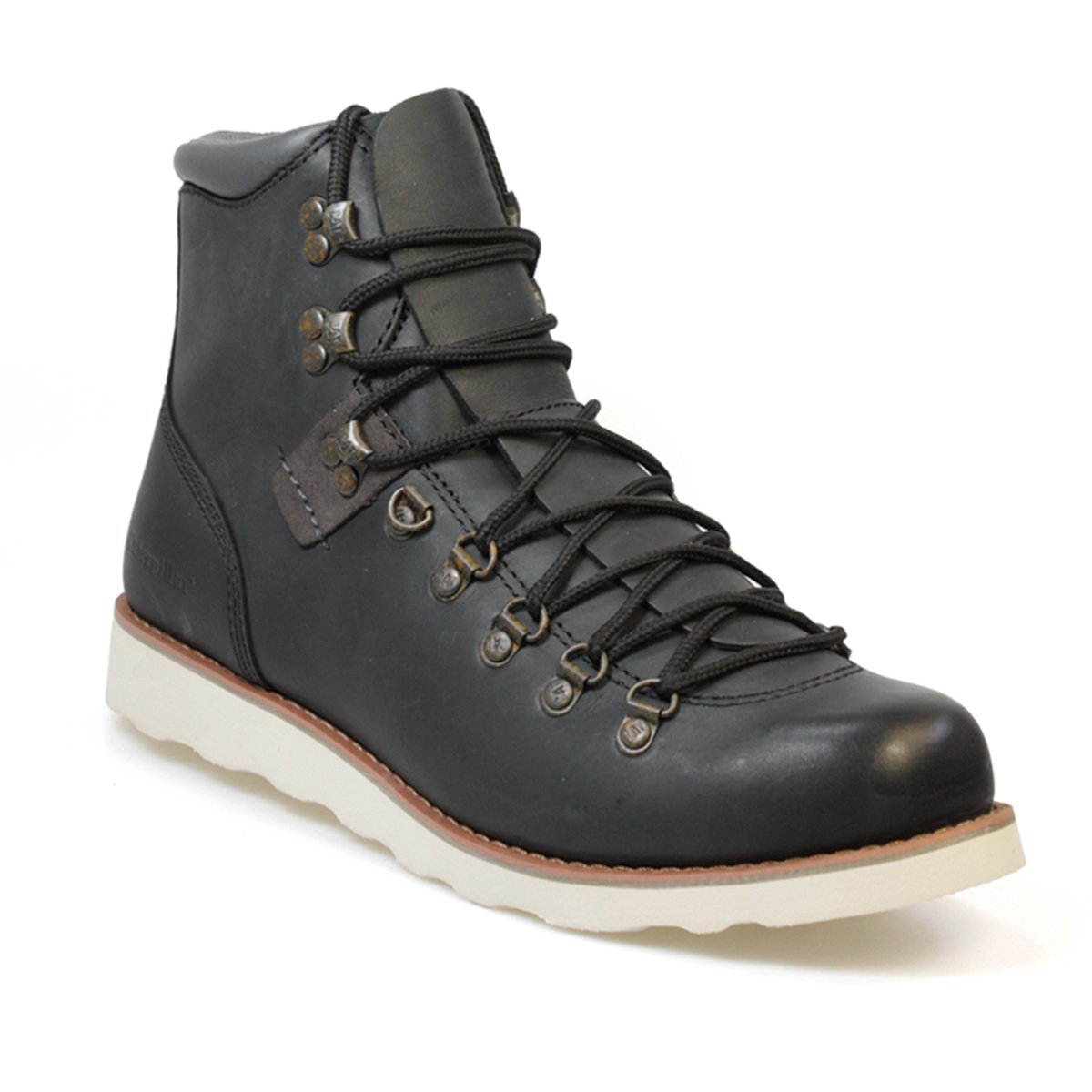 caterpillar sherman 5 quot black mens lace up ankle boots