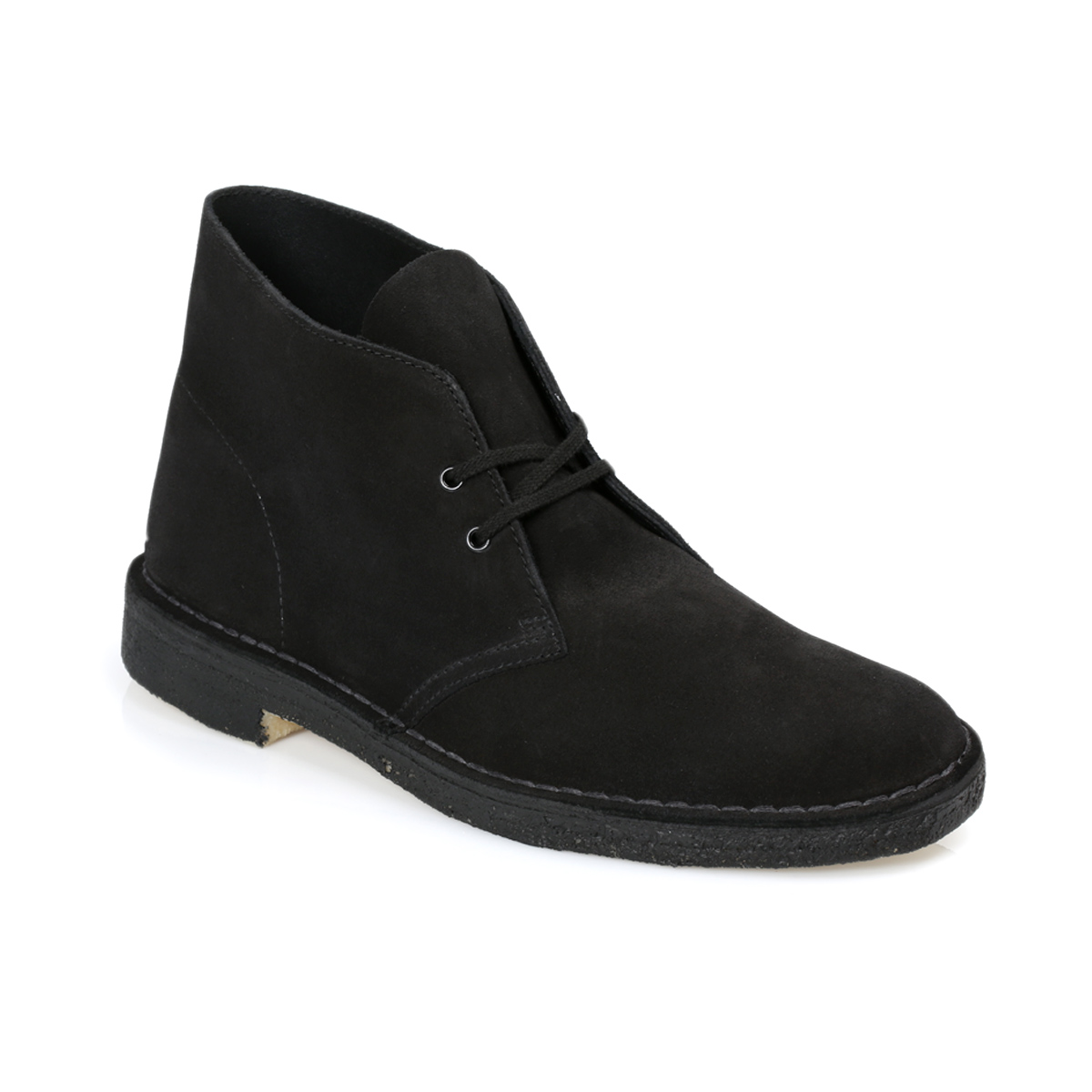 clarks black suede desert boots shoes size 8 11 ebay
