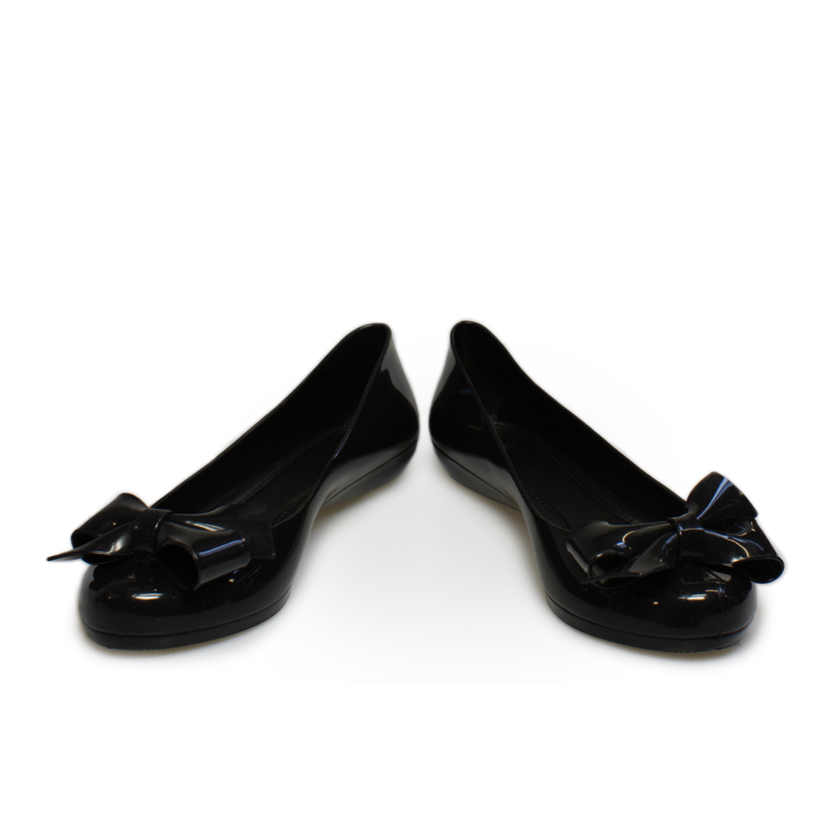 mel strawberry bow black bow pumps ballerina shoes size 3 8