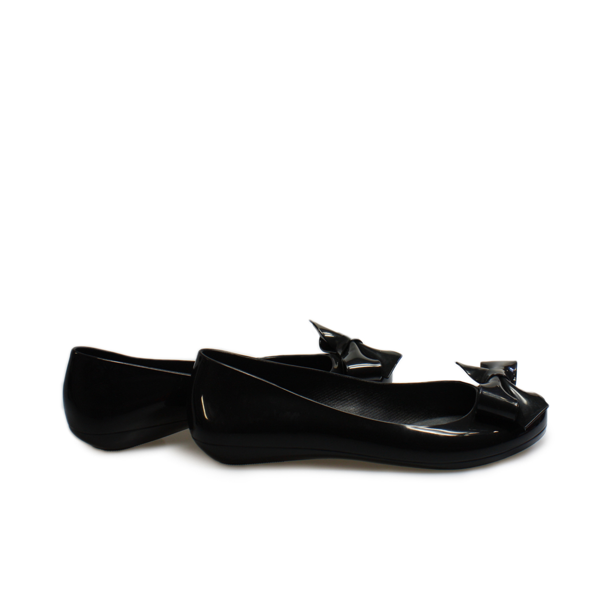 Mel Black Ballerina Pumps - UK size 3
