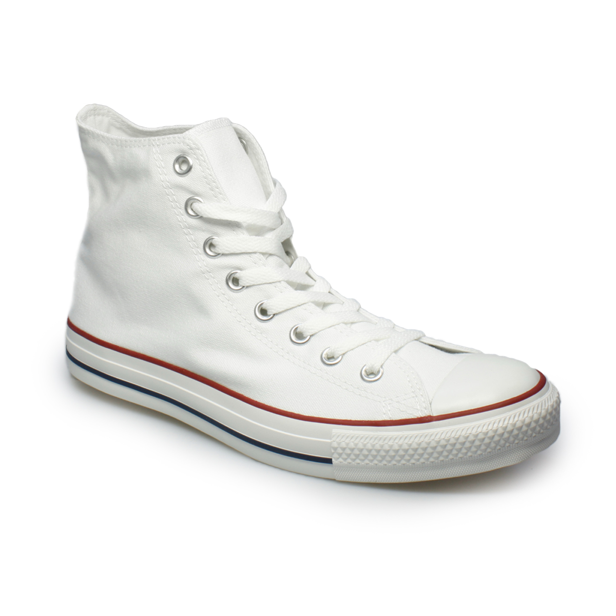 converse white hi all canvas mens womens trainers