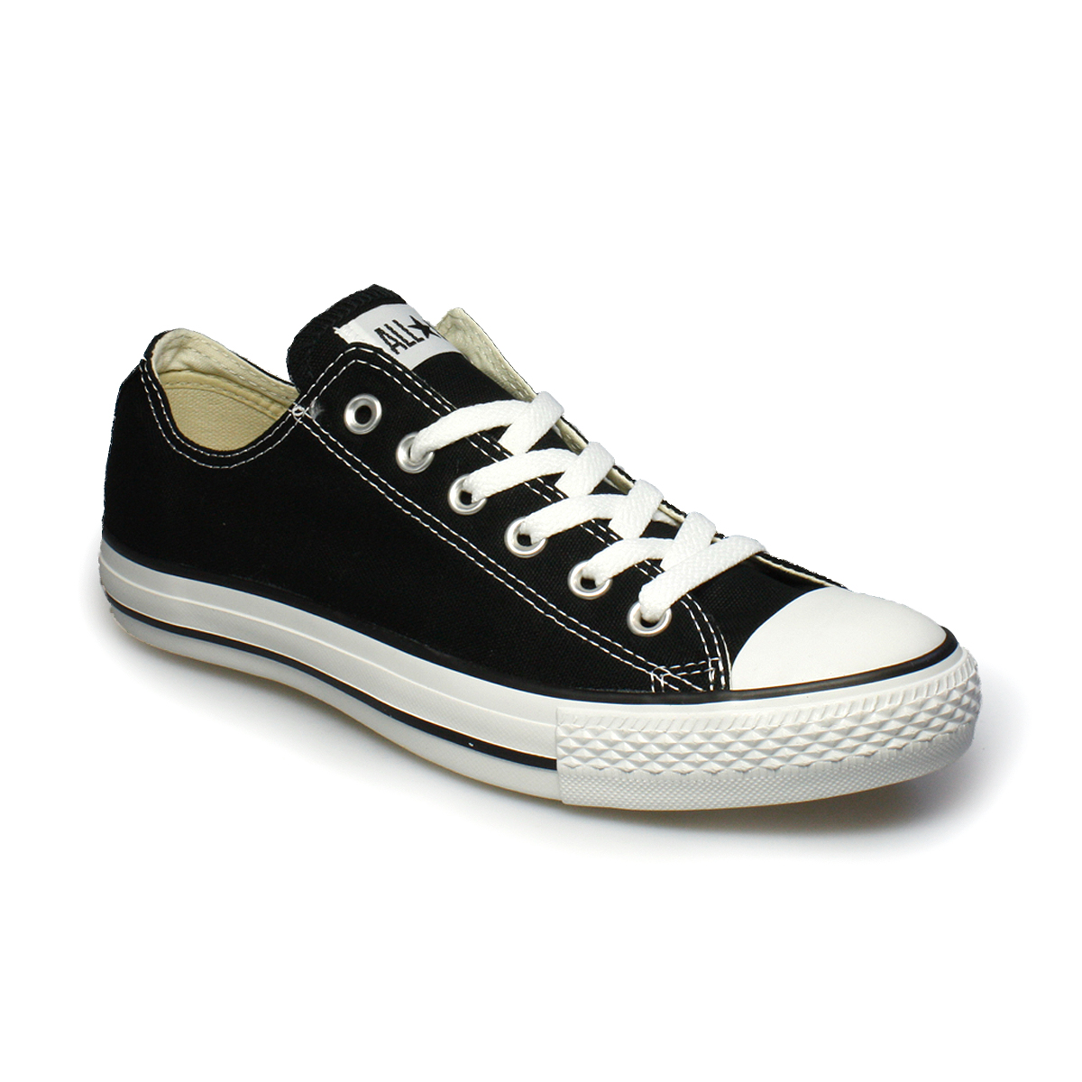 black converse low tops womens