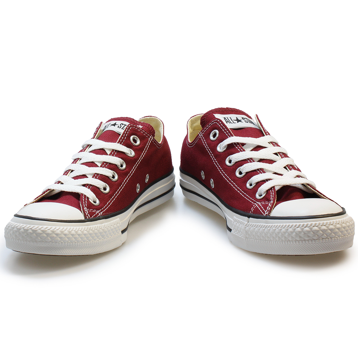 Mens Canvas Shoes Maroon