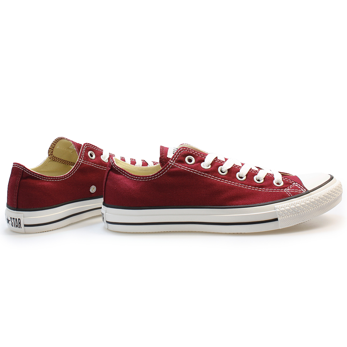 Maroon All Star Ox- Red trainers