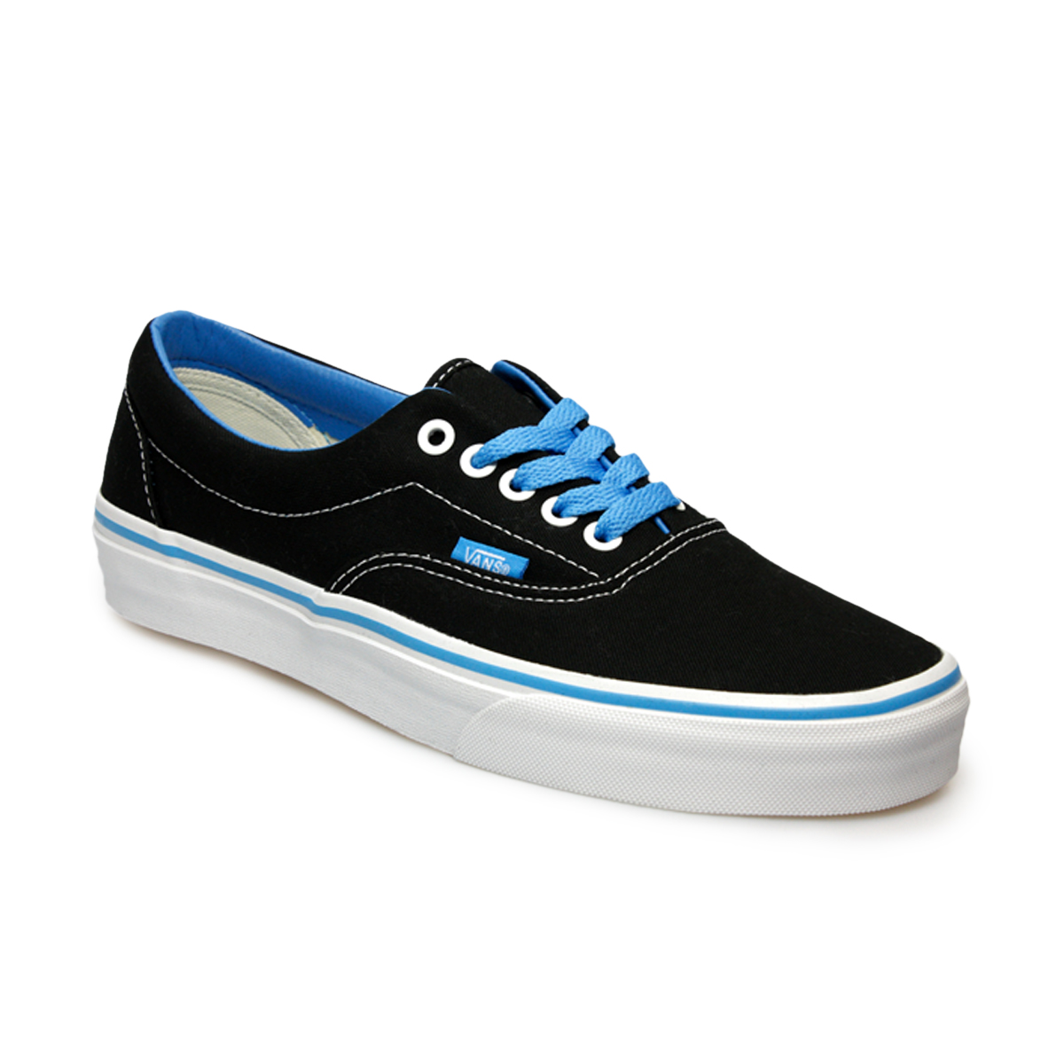black and blue vans era