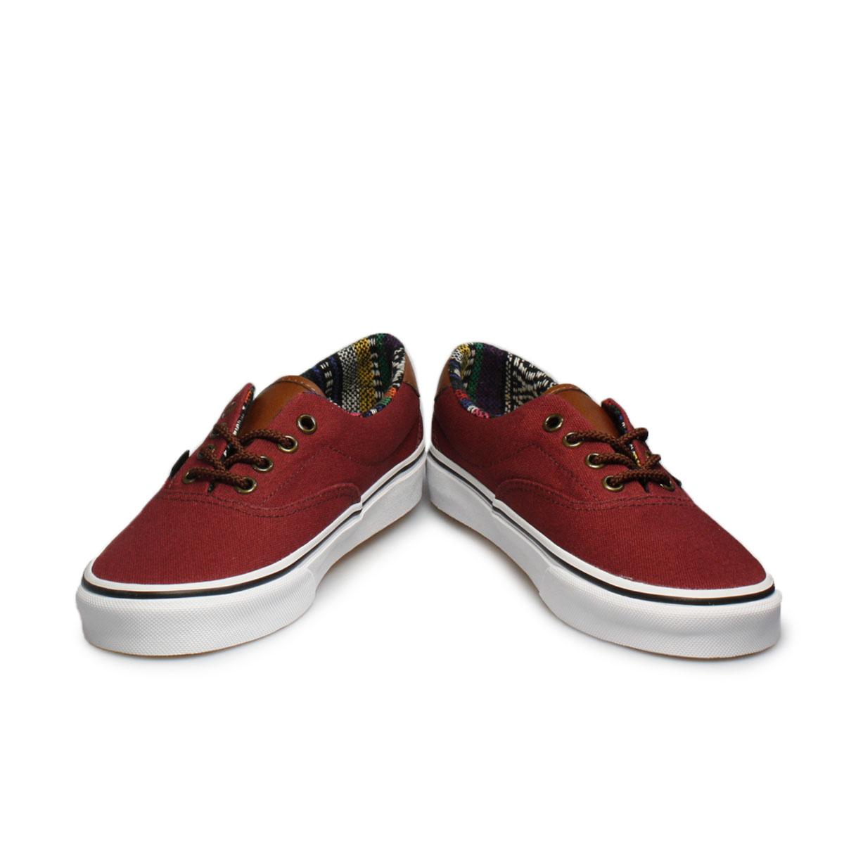 red vans era shoes