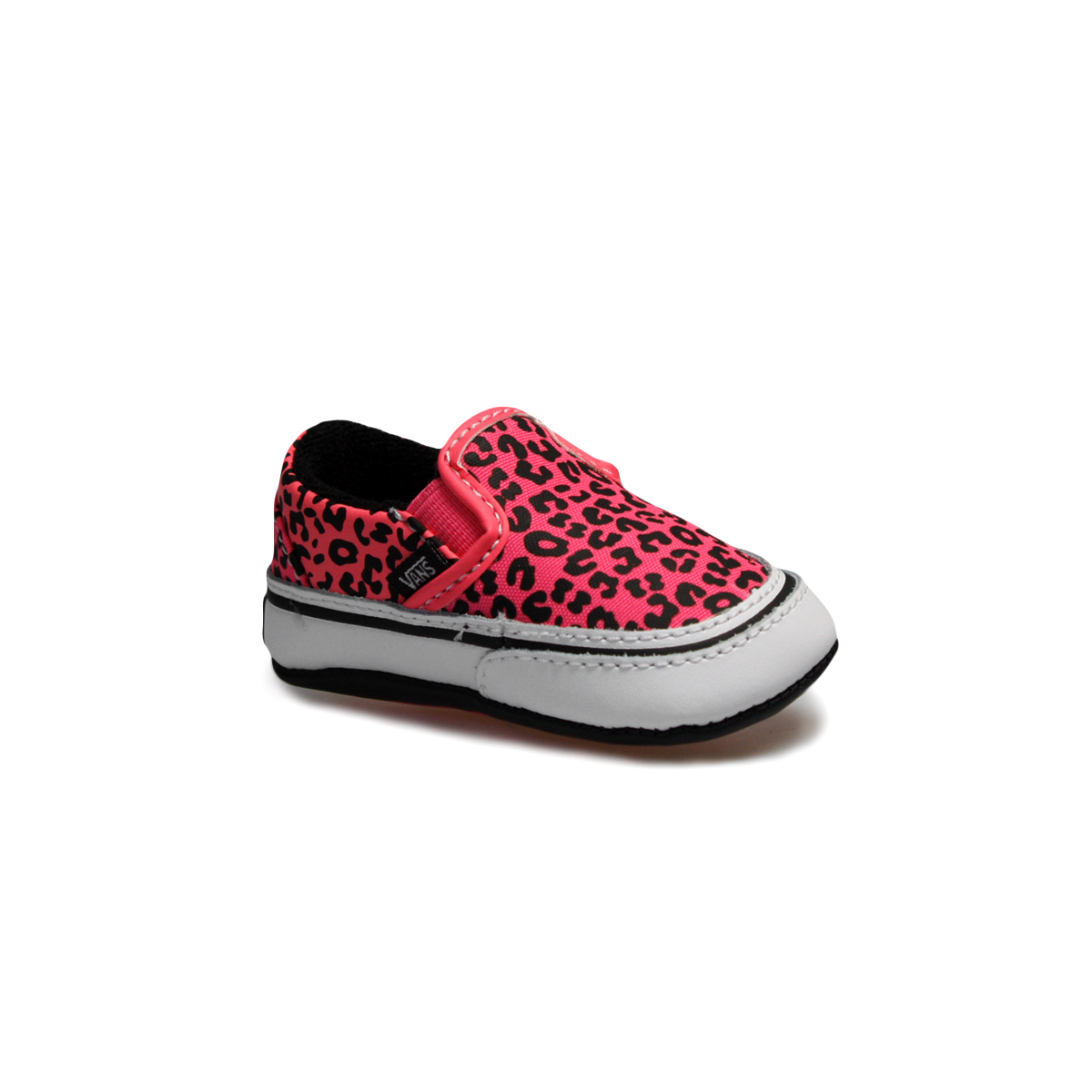 vans leopard pink classic slip on baby shoes sizes 0 5 3 5