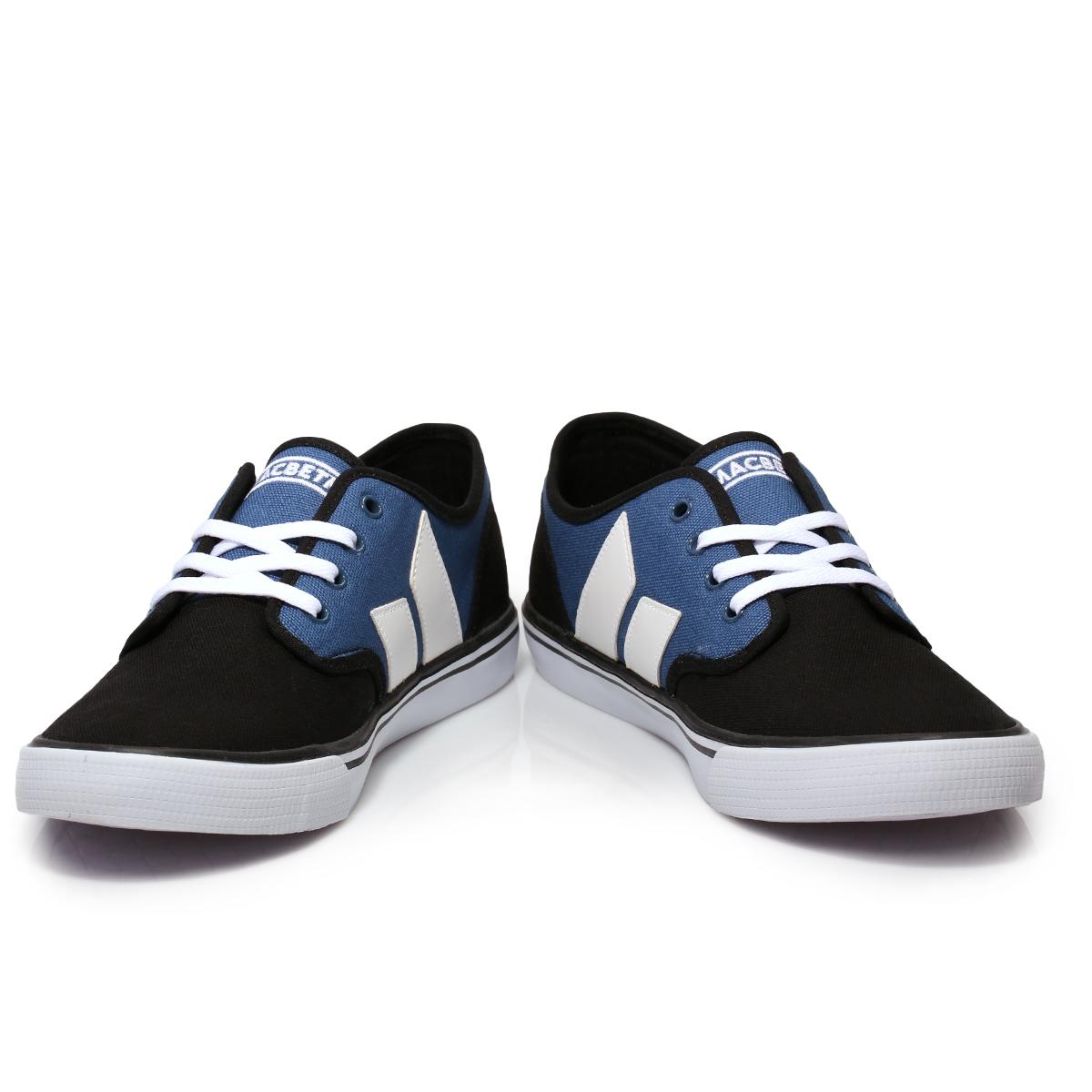 Macbeth Adams Camo Black Navy Blue Canvas Mens Trainers Sneakers Shoes Size  7 11  Macbeth. Macbeth Shoes