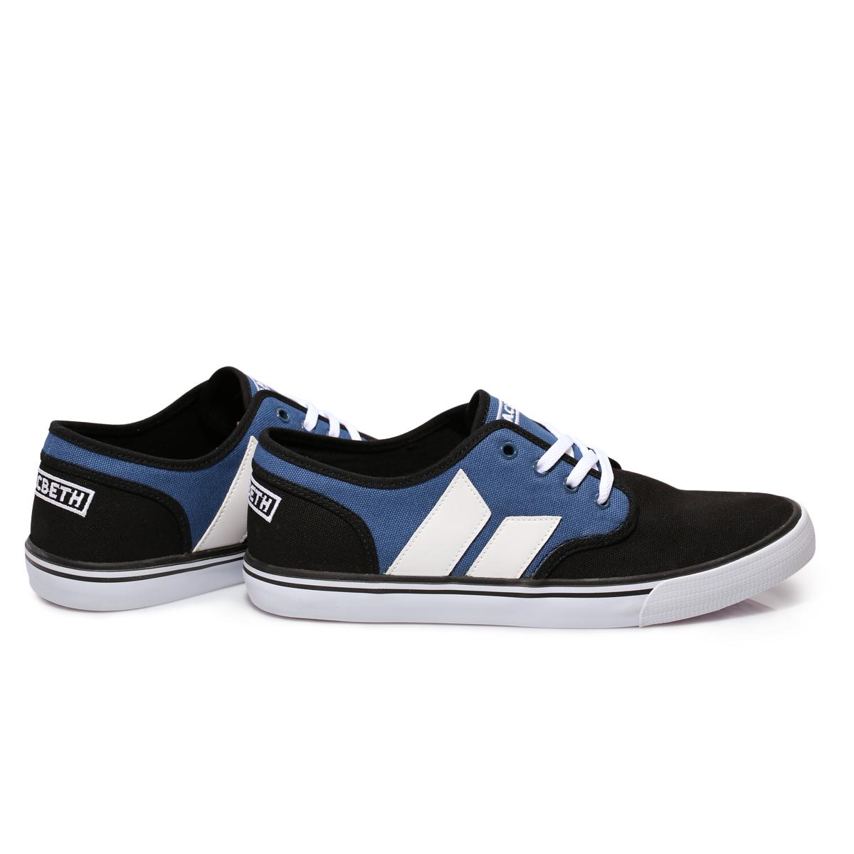 Macbeth Adams Camo Black Navy Blue Canvas Mens Trainers Sneakers Shoes Size  7 11. Macbeth Adams Camo Black Navy Blue Canvas Mens Trainers Sneakers