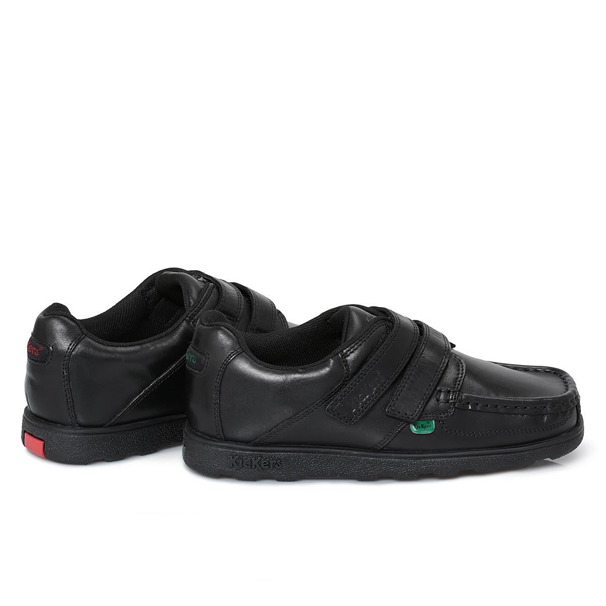 Kickers School Shoes Girls Velcro