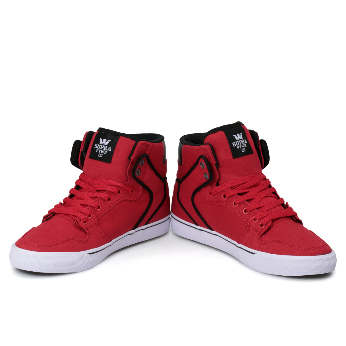 Supra Vaider Mens Shoes Red