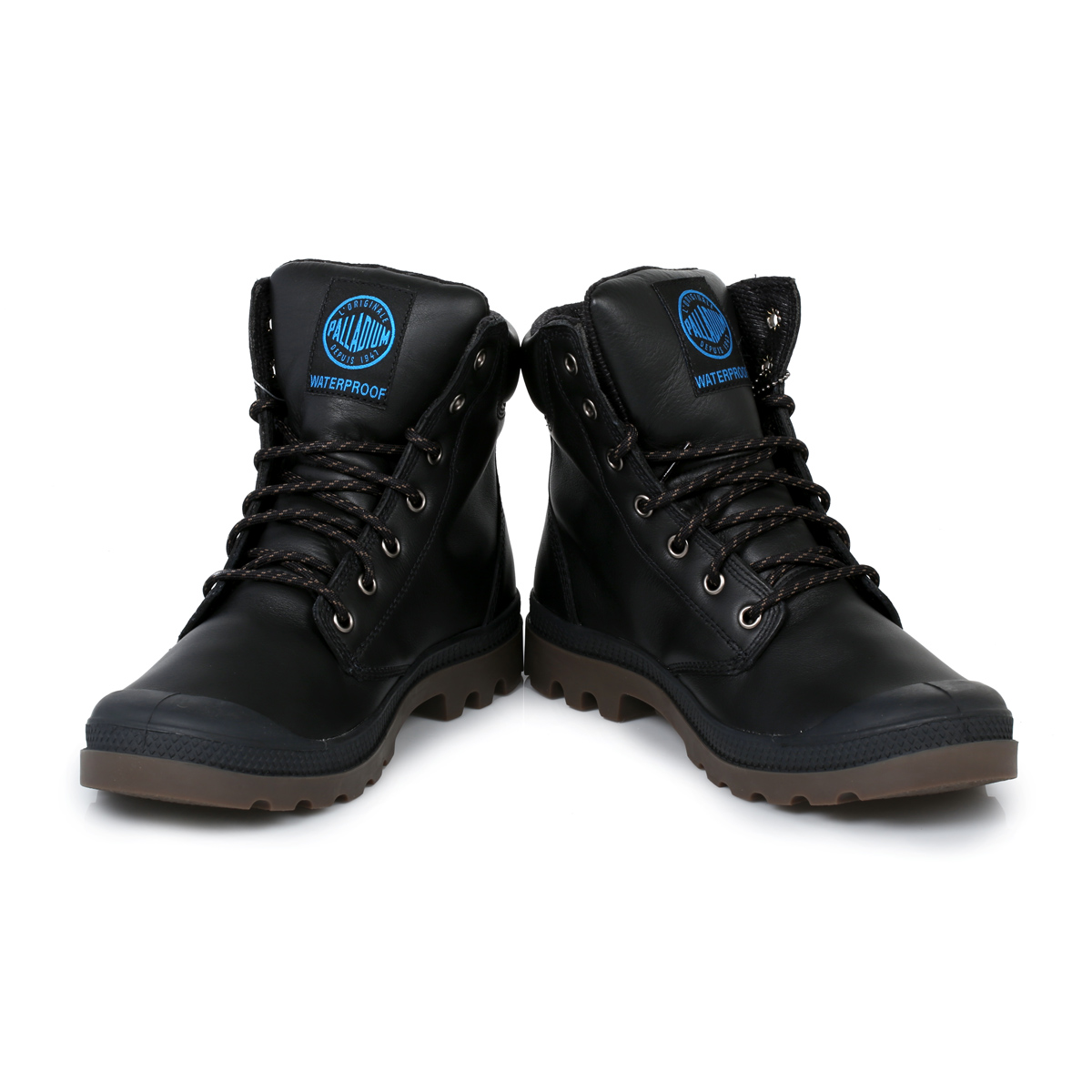 Lastest Palladium Palladium Duo Chrome Women Canvas Black Boot Boots