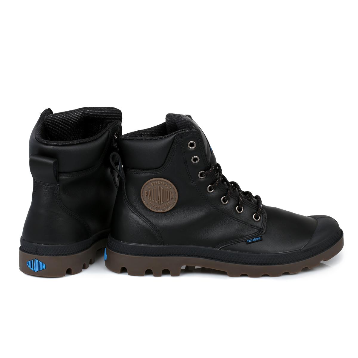 palladium black waterproof sport cuff mens boots size 7 11