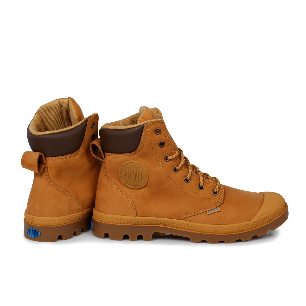palladium brown waterproof sport cuff mens boots size
