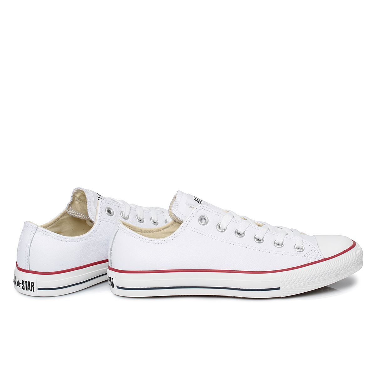 Converse White LT CT Leather Trainers Unisex Size 3-11 | eBay