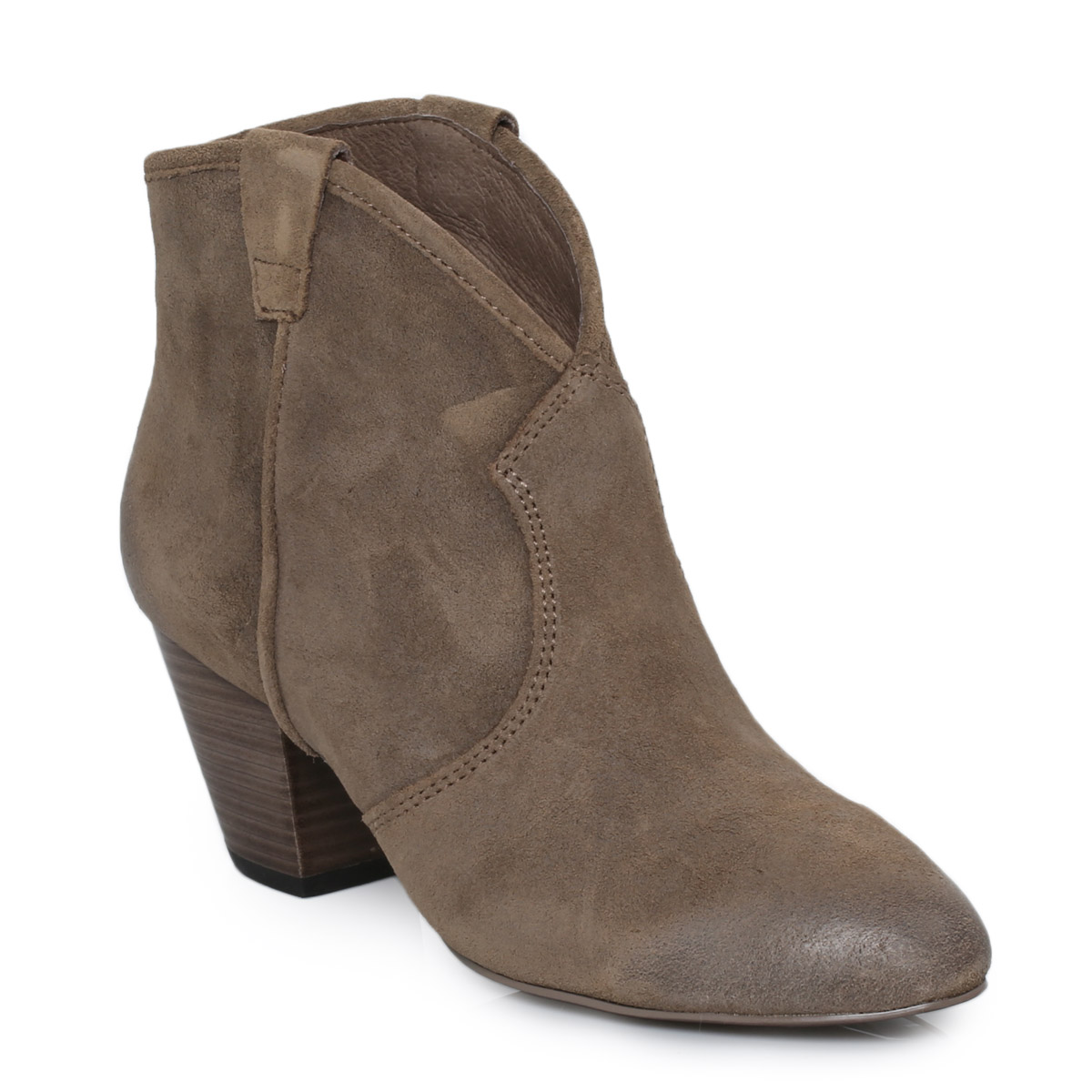 Excellent Sam Edelman Womens Petty Suede Ankle Boot Tan In Brown TAN  Lyst