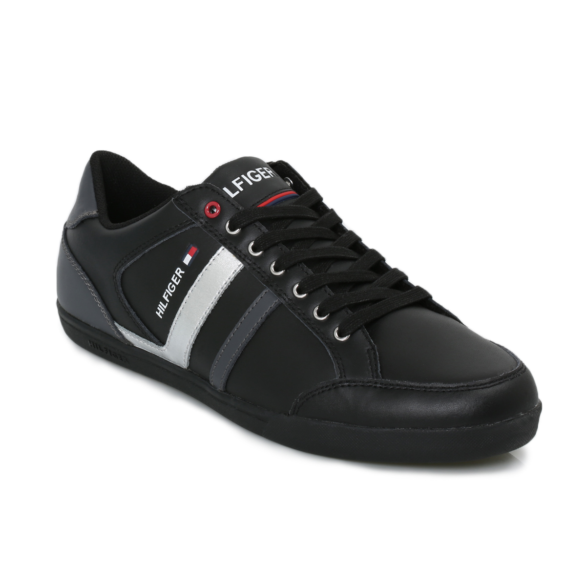 tommy hilfiger black rickey suede trainers sneakers shoes. Black Bedroom Furniture Sets. Home Design Ideas