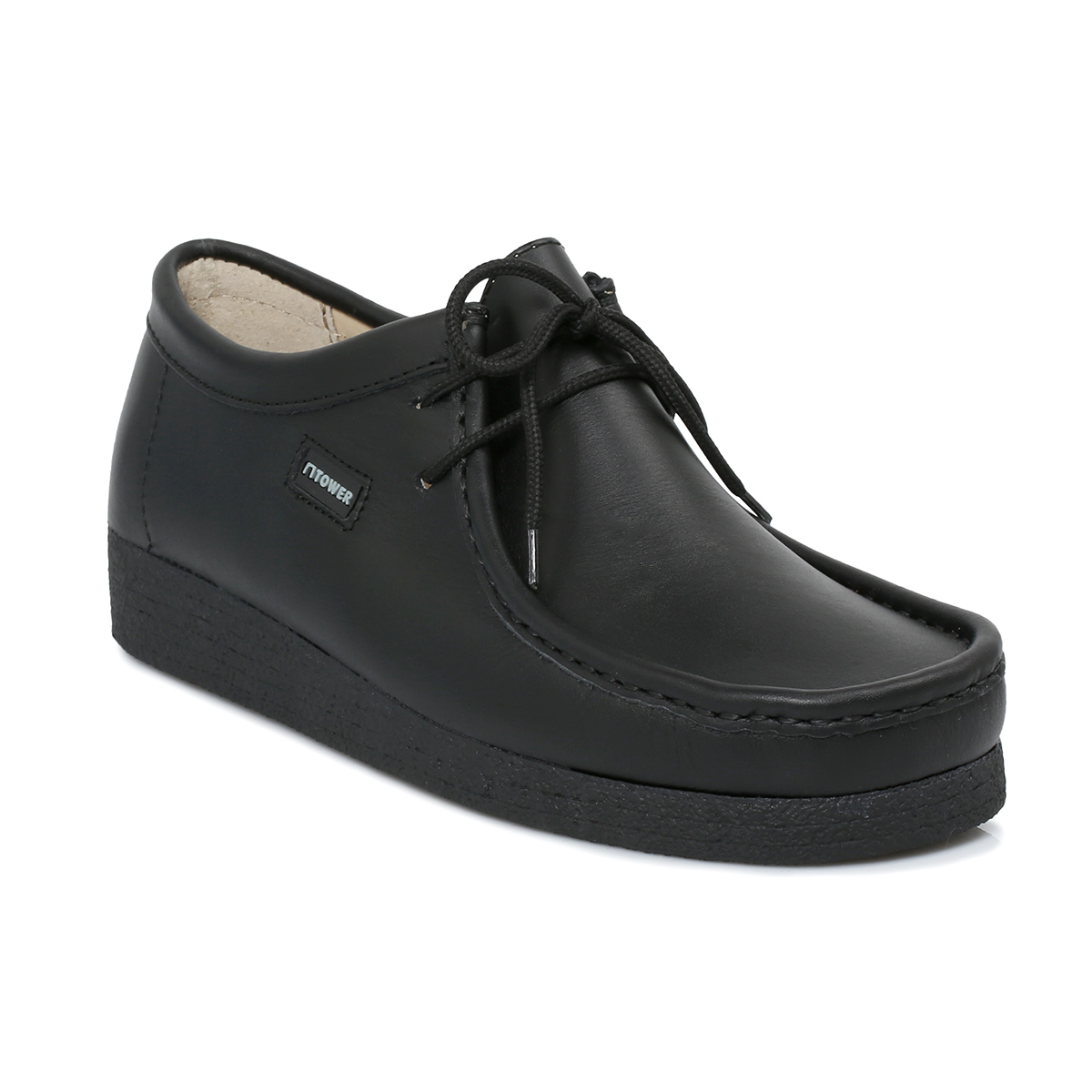 tower 1000 black napa leather wallaby mens womens school