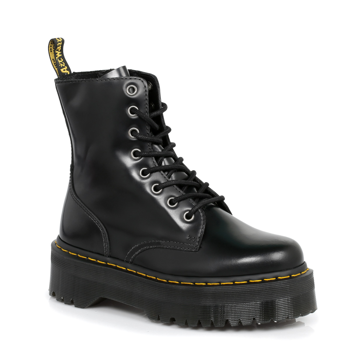 Dr Martens Black Jadon Leather Womens Boots sizes 3-9