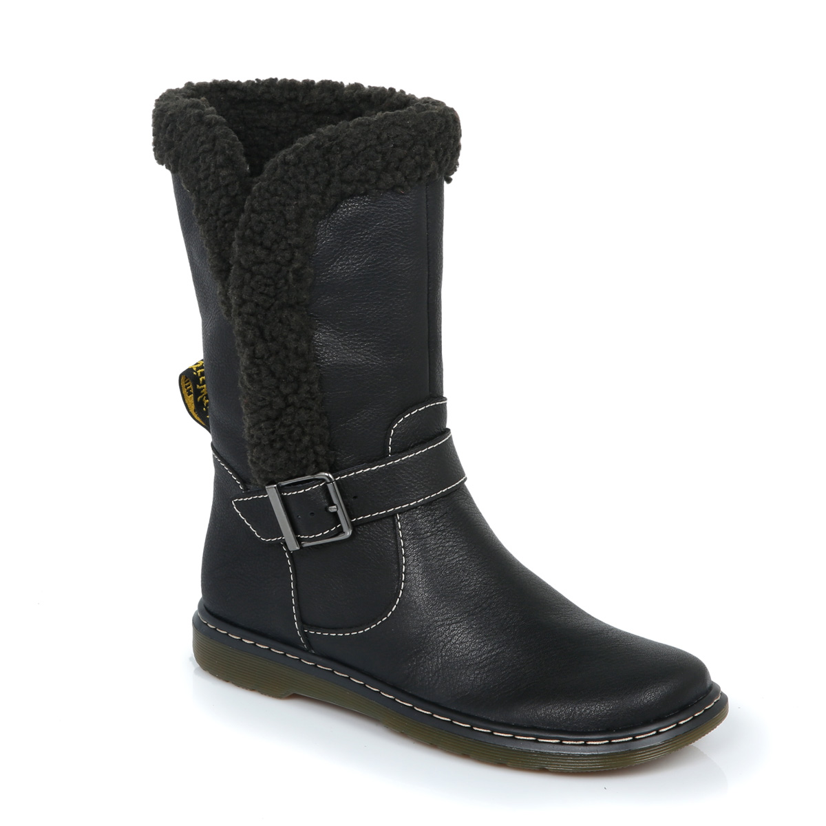 dr martens black brielle leather boots womens sizes 3 9 ebay