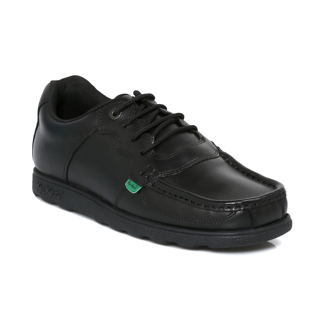 Older Boys Leather Kickers School Shoes