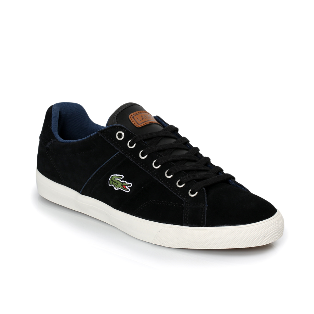 Lacoste Black Flat Shoes