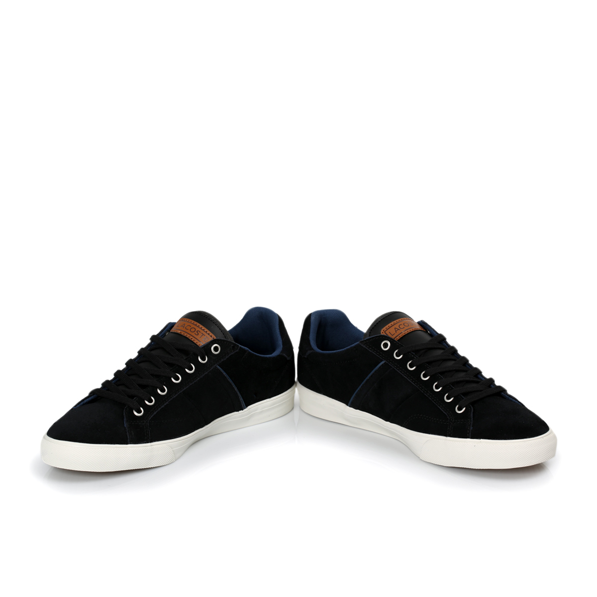 Yellow And Black Lacoste Shoes 72