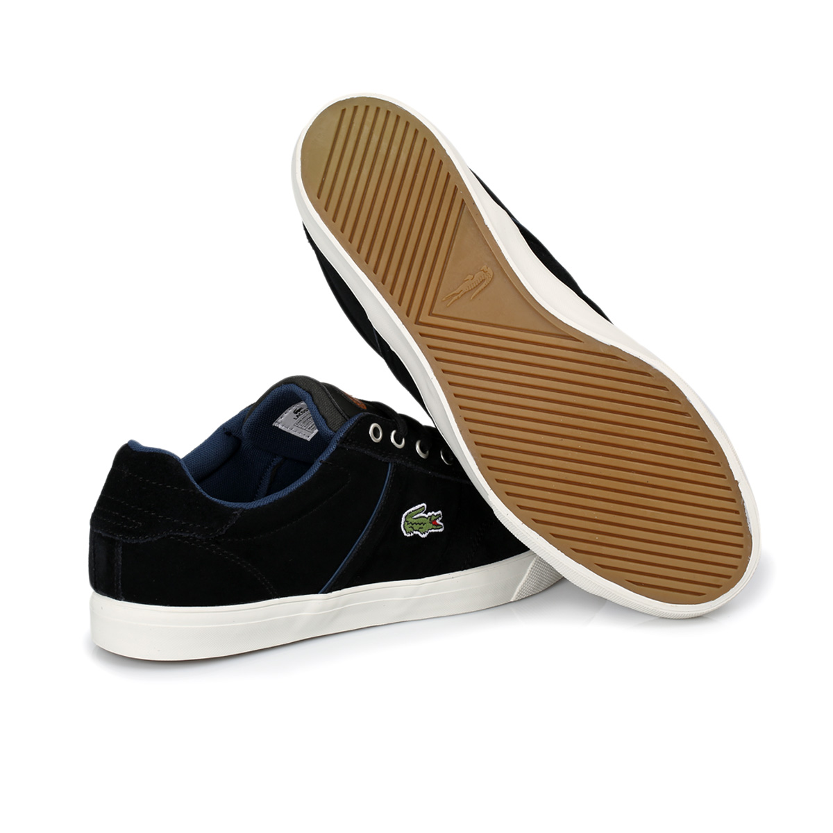 Yellow And Black Lacoste Shoes 21