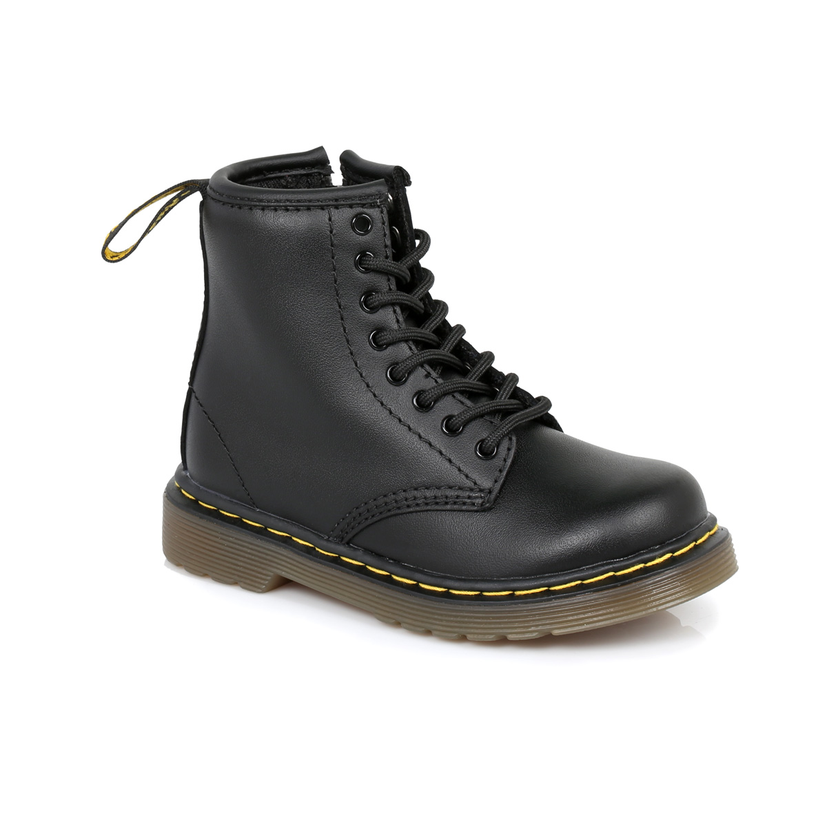 dr martens black brooklee leather boots sizes 6 9 ebay