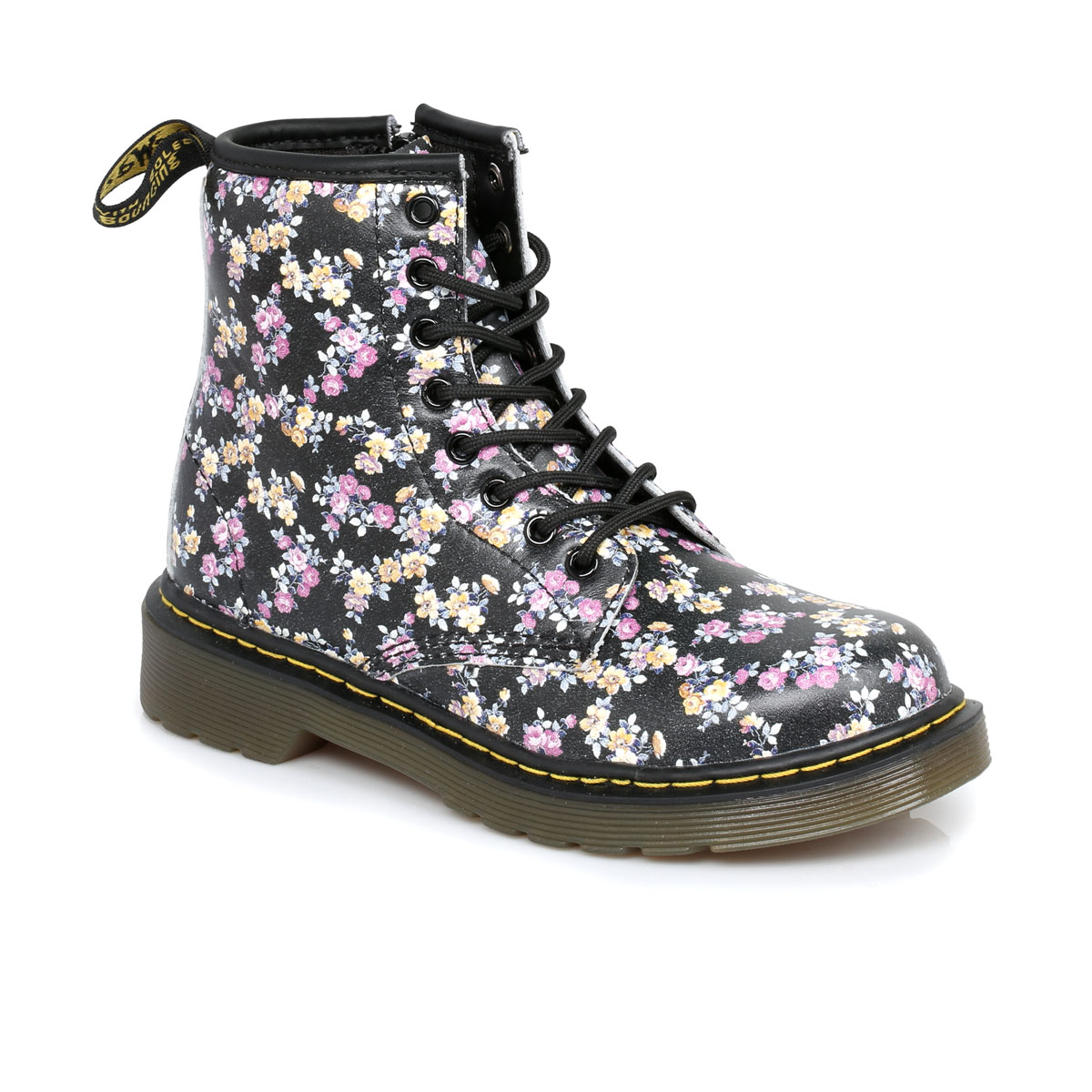 Dr-Martens-Floral-Delaney-Kids-Leather-Boots-sizes-10-2