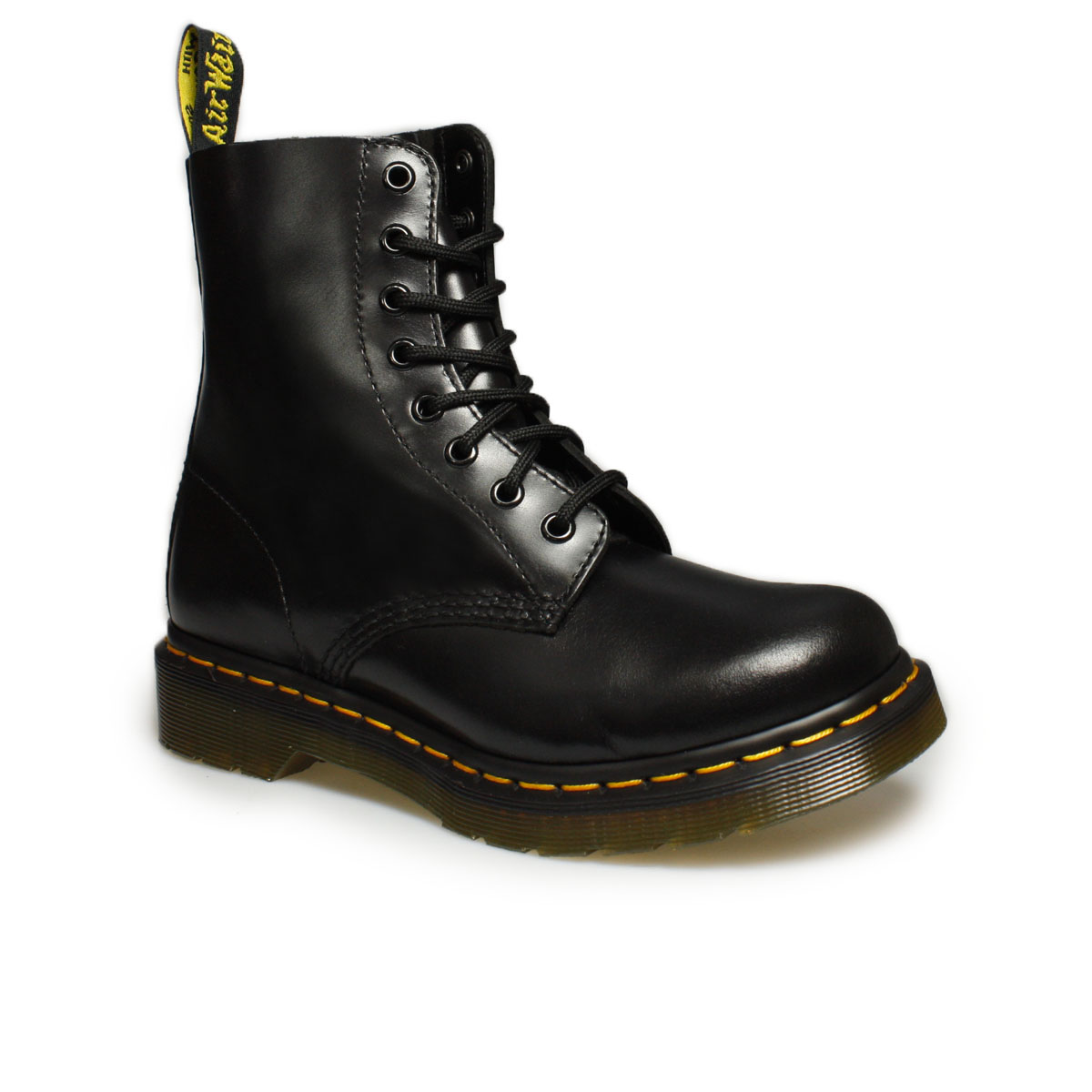 dr martens black pascal buttero boots size 3 8 ebay. Black Bedroom Furniture Sets. Home Design Ideas